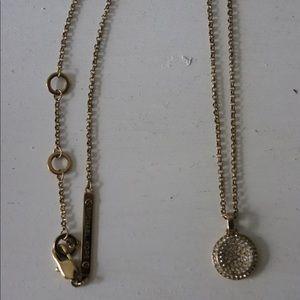 Michael Kors gold necklace